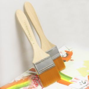 Brush, Nylon, Natural colours, orange, 15.5cm x 4.5cm x 0.5cm, 1 Brush, (SZ0006)